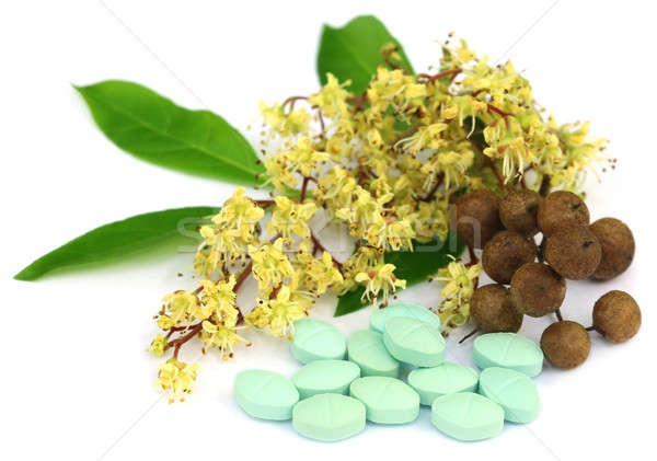 Herbal pills with henna Stock photo © bdspn