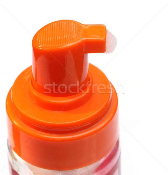 Soap dispenser closeup Stock photo © bdspn