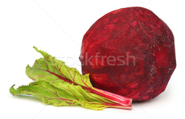 Fresh Beet with leaves Stock photo © bdspn