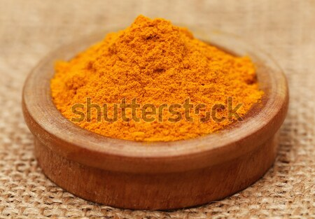 Henna powder with other beautification product Stock photo © bdspn