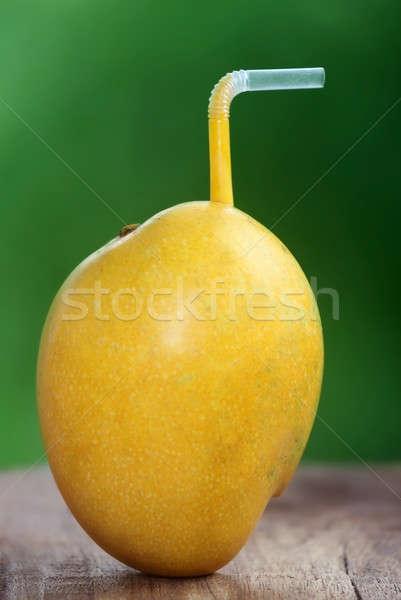 Whole Mango, Juice concept Stock photo © bdspn