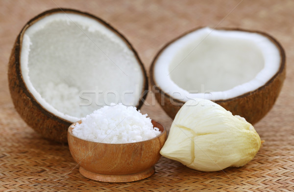 Grated coconut with sprout Stock photo © bdspn