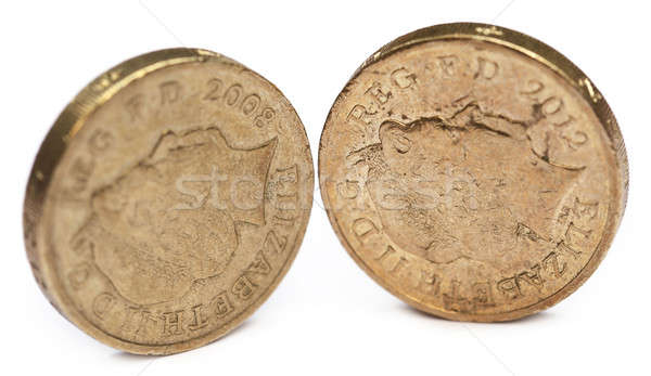 British Pound coin Stock photo © bdspn