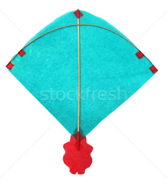Traditioneel Kite dun papieren achtergrond zomer Stockfoto © bdspn