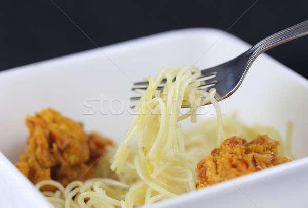 Noodles Stock photo © bdspn