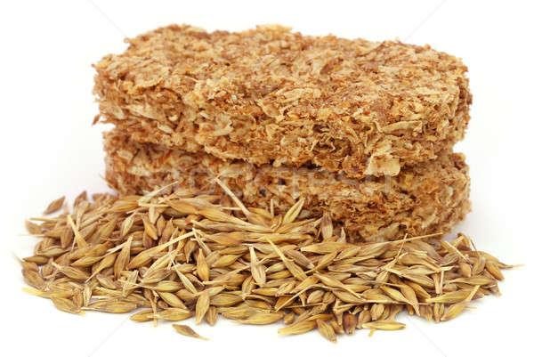 燕麦 クッキー 白 食品 背景 新鮮な ストックフォト © bdspn