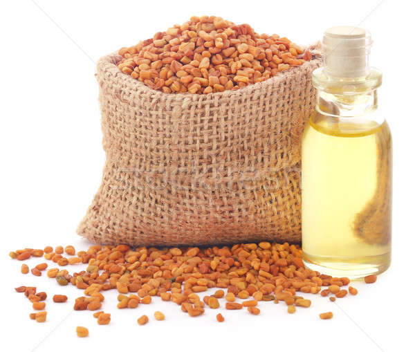 Fenugreek with oil Stock photo © bdspn