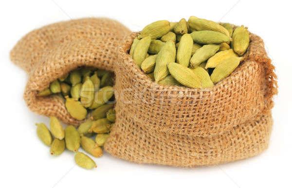 カルダモン シード 白 食品 健康 ストックフォト © bdspn
