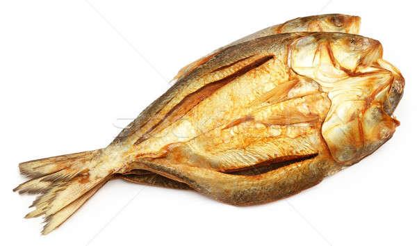 Popolare pesce essiccati sud-est asiatico cena fiume Foto d'archivio © bdspn