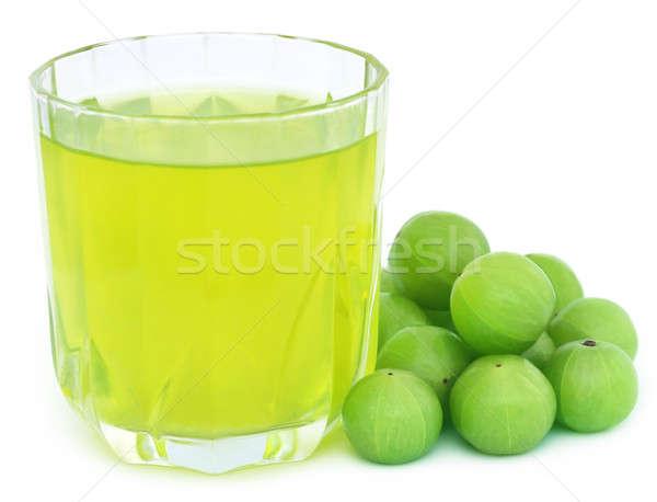 Suco fresco frutas branco comida Foto stock © bdspn