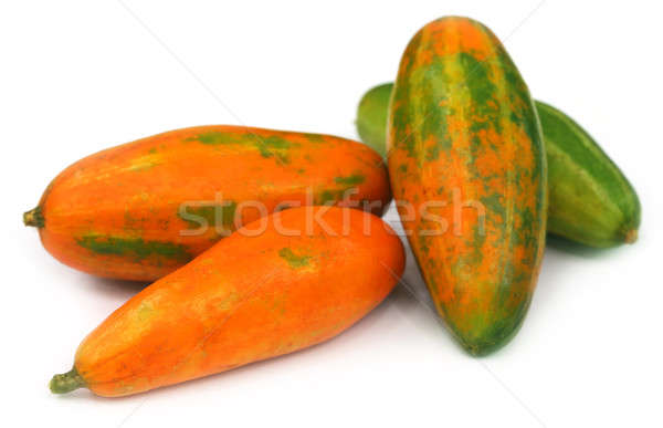 Red Pointed gourd Stock photo © bdspn