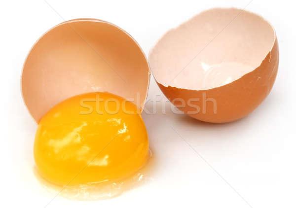 Brocken egg Stock photo © bdspn