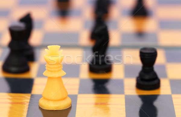 Chessboard  Stock photo © bdspn