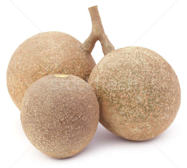 Three wood apples or kod bel of Southeast Asia Stock photo © bdspn