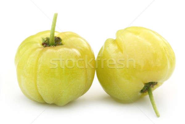 Stock photo: Lagerstroemia Indica or Lagestromia Cherry fruit