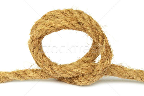 Knot on rope Stock photo © bdspn