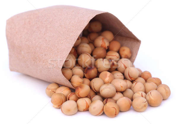 Fried peas with paper packet Stock photo © bdspn