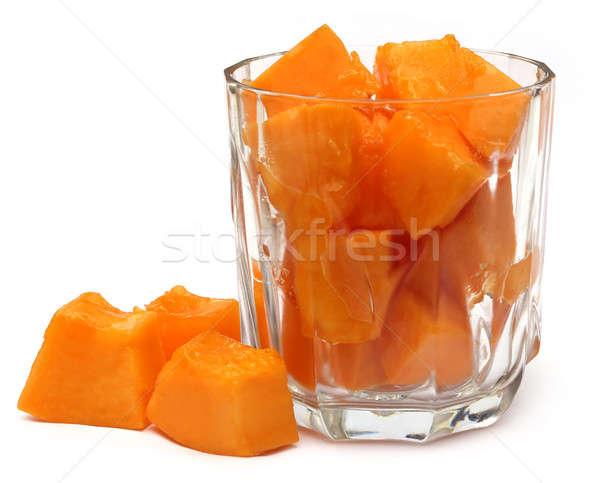 Сток-фото: сока · стекла · белый · воды · продовольствие · фрукты