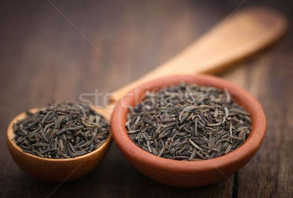 Kimyon tohumları çanak doğal Stok fotoğraf © bdspn