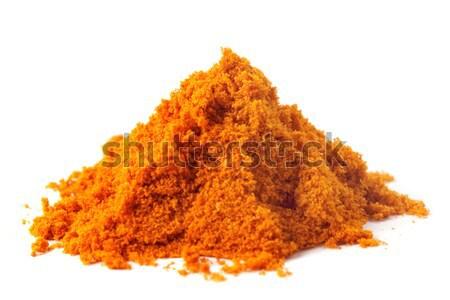 Köteg piros cukor fehér étel egészség Stock fotó © bdspn