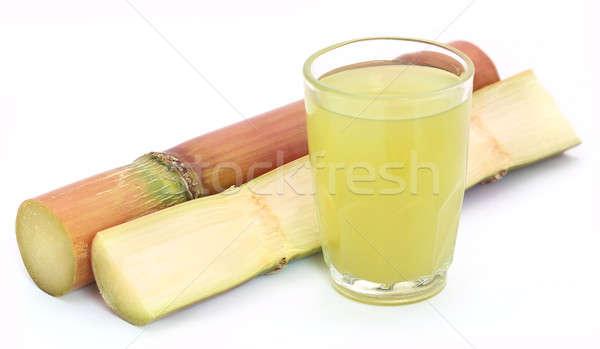 Pieces of sugarcane juice Stock photo © bdspn