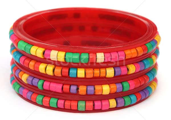 Traditional bracelets of Southeast Asia Stock photo © bdspn