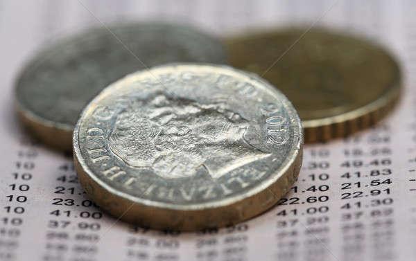 British Coins Stock photo © bdspn