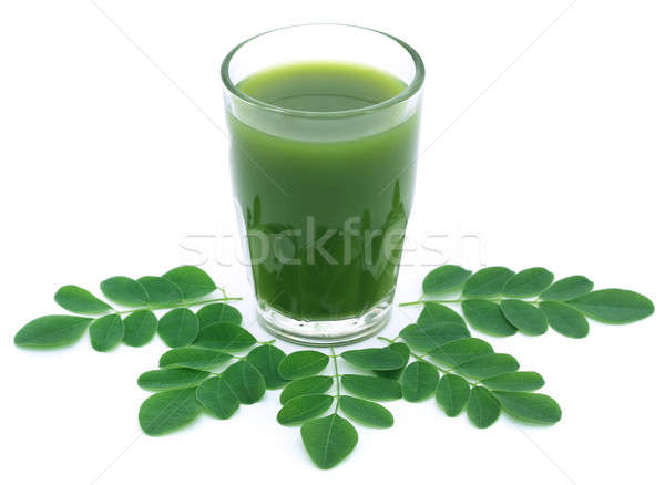 Moringa leaves with extract Stock photo © bdspn