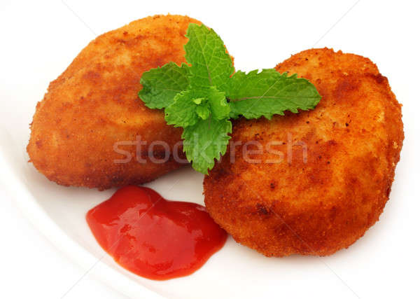Potato chops Stock photo © bdspn