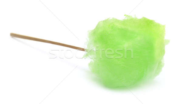 Green cotton candy Stock photo © bdspn