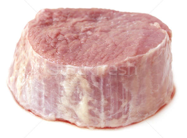 Tritato carne bianco alimentare cena carne Foto d'archivio © bdspn