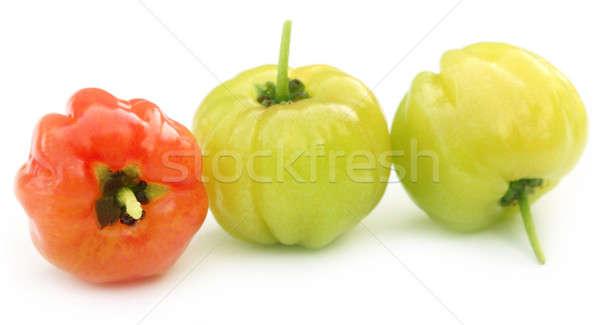 Cherry fruits Stock photo © bdspn