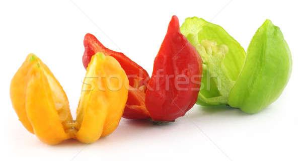 Bhut Jolokia chili pepper or the Naga Morich  Stock photo © bdspn