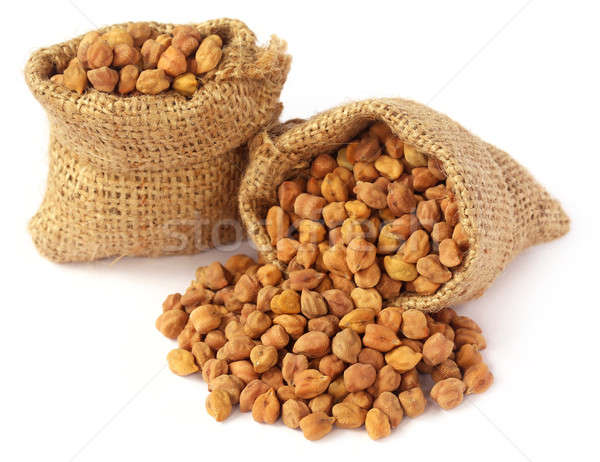 Raw Chickpea Stock photo © bdspn