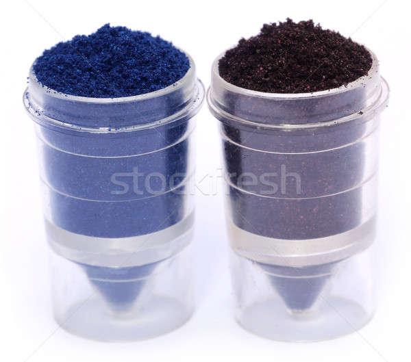 Textil szín por műanyag étel háttér Stock fotó © bdspn