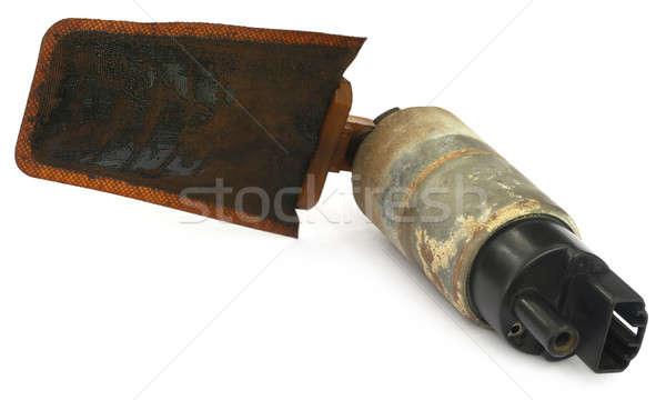 Automobile oil filter Stock photo © bdspn