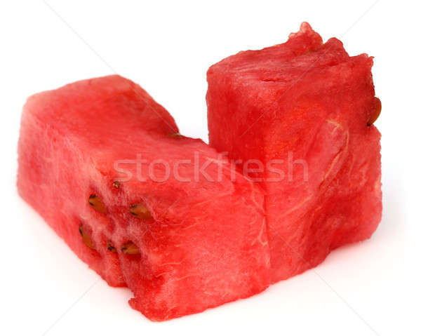 Foto stock: Melancia · branco · sobremesa · fresco · semente