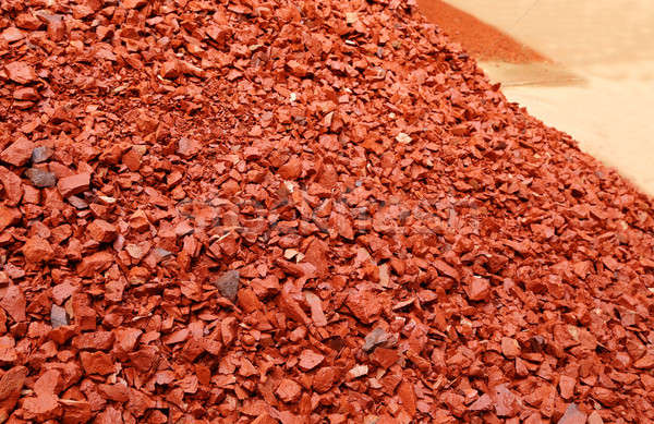 Aggregates of bricks Stock photo © bdspn