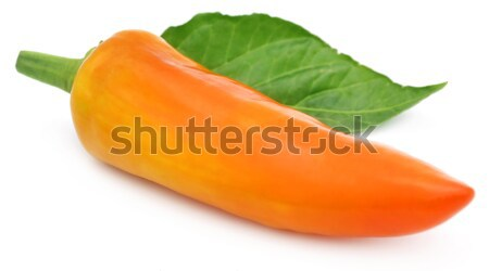 Banana chilies Stock photo © bdspn