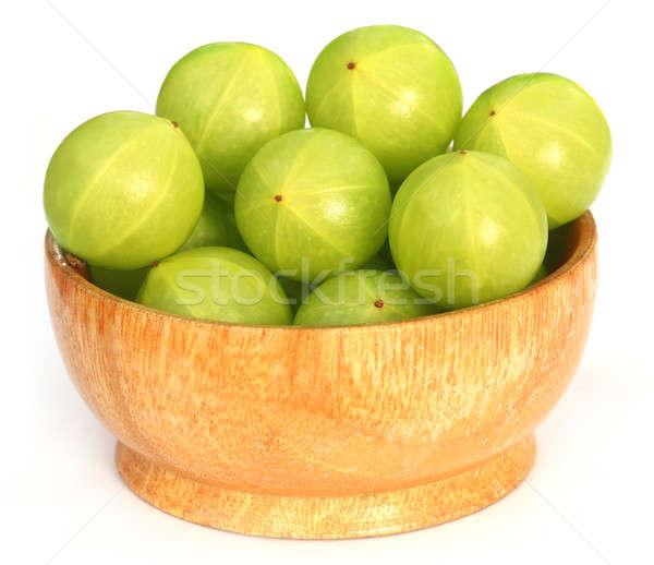 Foto stock: Frutas · tigela · branco · comida · Ásia · doce