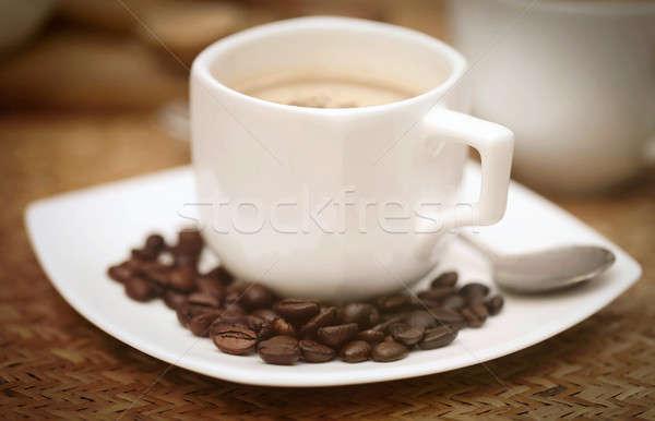 コーヒー 豆 表面 カフェ ストックフォト © bdspn