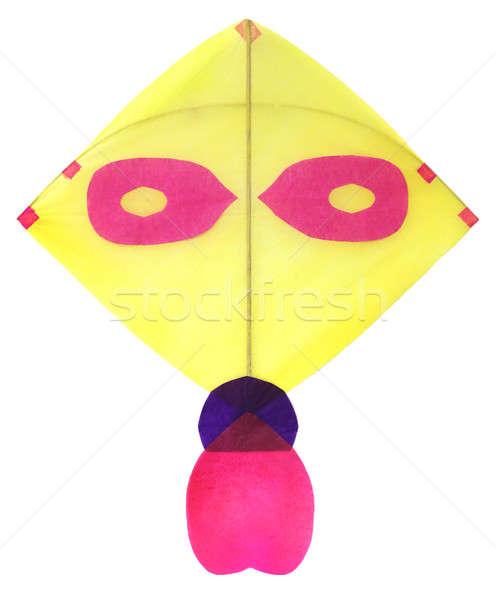 Geleneksel uçurtma ince kağıtları gökyüzü kâğıt Stok fotoğraf © bdspn