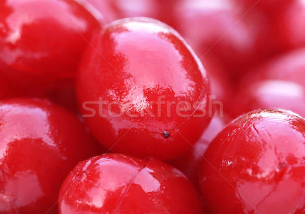 Processed cherry  Stock photo © bdspn