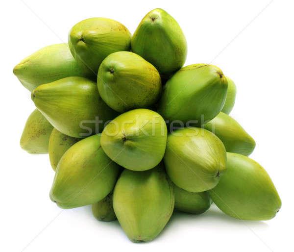 新鮮な 緑 ココナッツ 白 食品 ストックフォト © bdspn