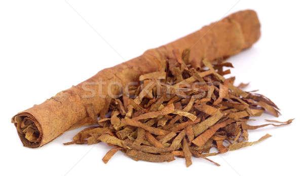 Dry tobacco leaves Stock photo © bdspn
