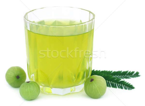 Foto stock: Suco · fresco · frutas · branco · comida
