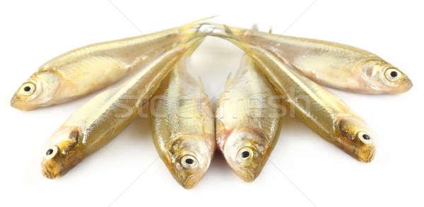 Balık güneydoğu asya gıda yağ Asya gümüş Stok fotoğraf © bdspn
