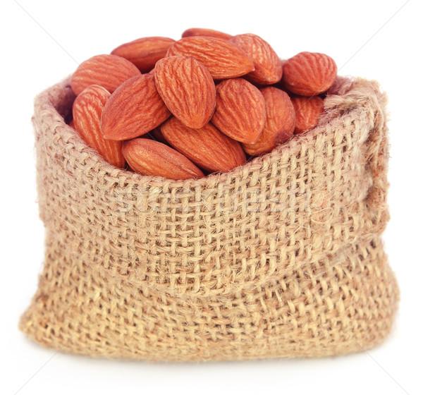 Fresh almonds Stock photo © bdspn
