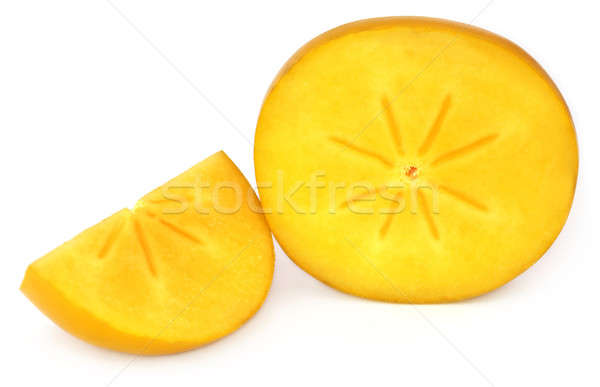 Fresh persimmon Stock photo © bdspn