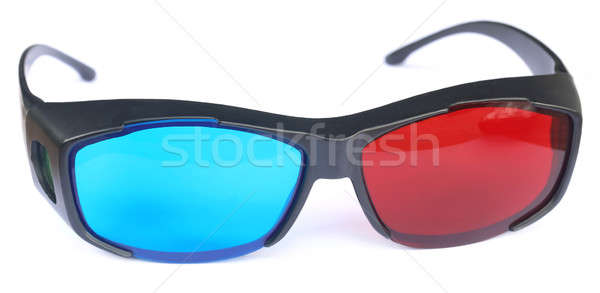 Glasses for watching 3d movies Stock photo © bdspn
